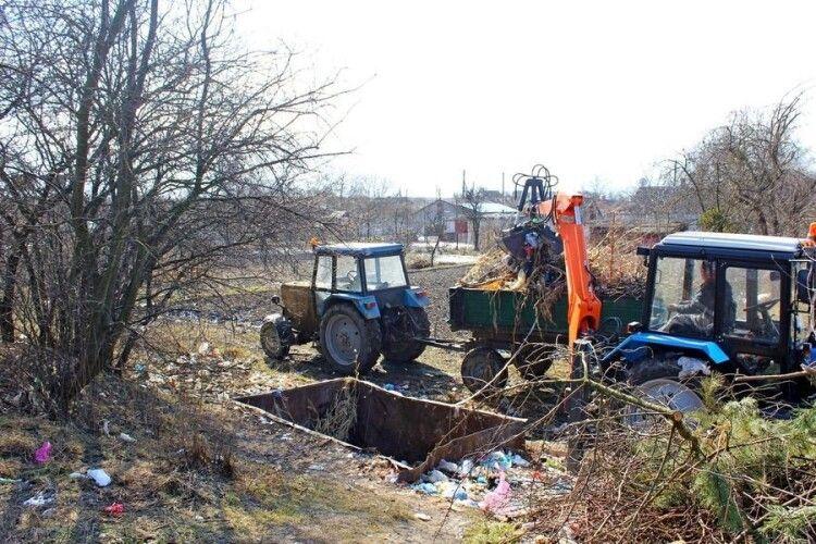 У громаді на Волині з початку року ліквідували понад 30 смітників (Фото)