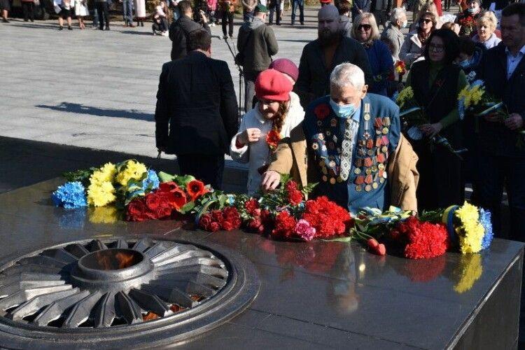 У Луцьку відзначили 76-ту річницю перемоги над нацизмом у Другій світовій війні (Фото)