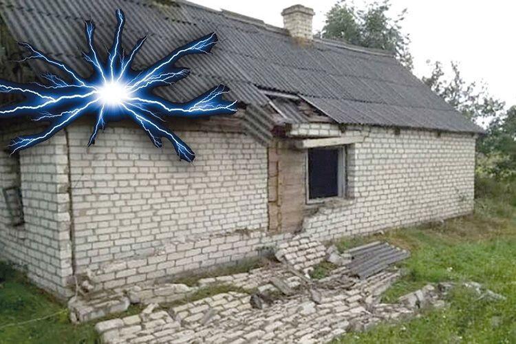 Клубком вогню  у дім влетіла кульова блискавка