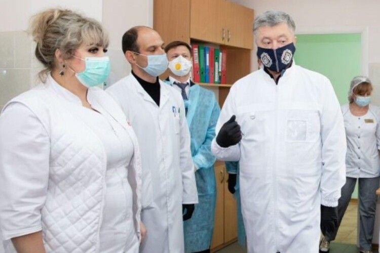 Команда Порошенка вимагає від влади застрахувати всіх медиків від коронавірусу: люди, які рятують наші життя, потребують справжнього захисту