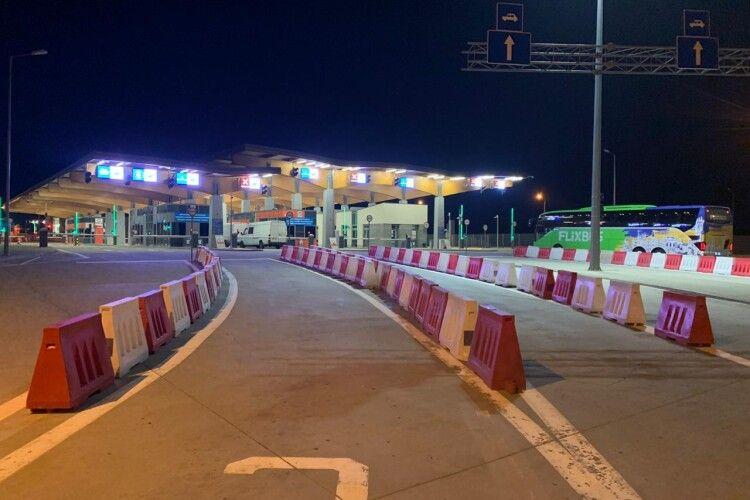 На кордоні з Польщею відновлено роботу ще одного пункту пропуску
