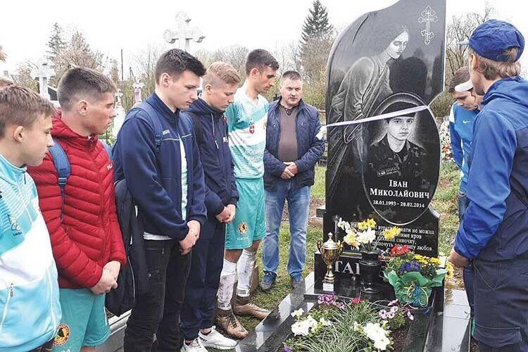 «Цей турнір свідчить:  люди пам'ятають про те, що мій син віддав життя заУкраїну»