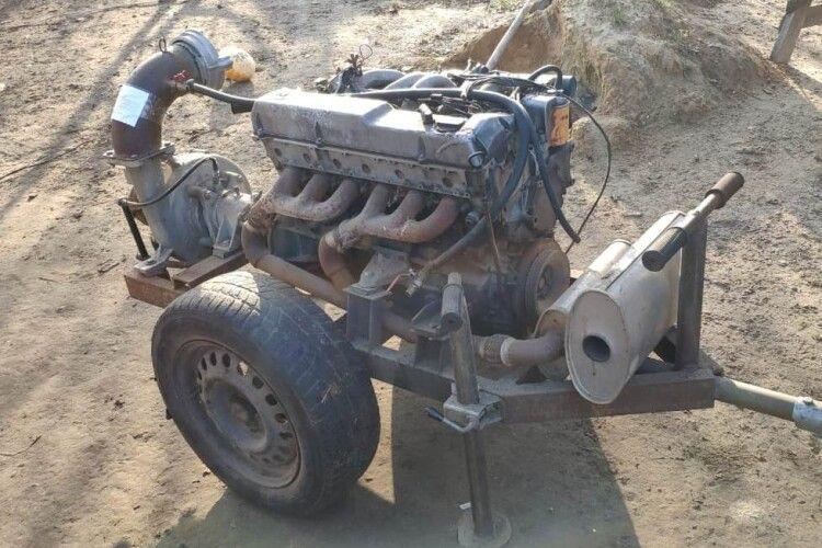 На Рівненщині вилучено засоби для незаконного видобутку «сонячного каміння» (Фото)