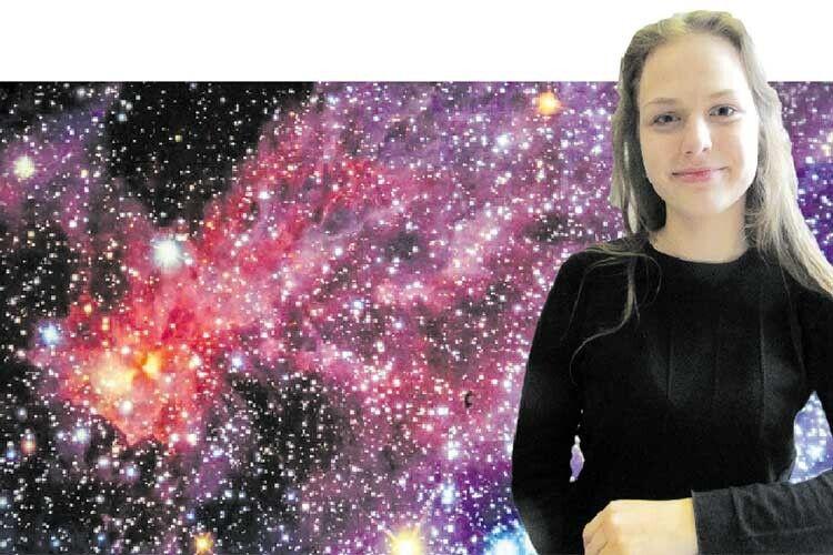 Волинська школярка стала зіркою, досліджуючи зірки