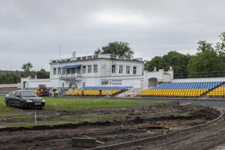 Нововолинськ отримав 7 мільйонів гривень на стадіон