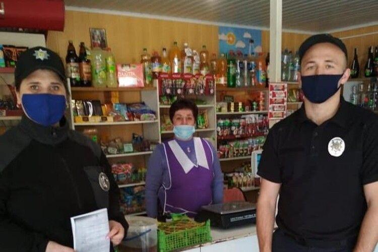 У Локачинському районі працюють додаткові наряди поліції