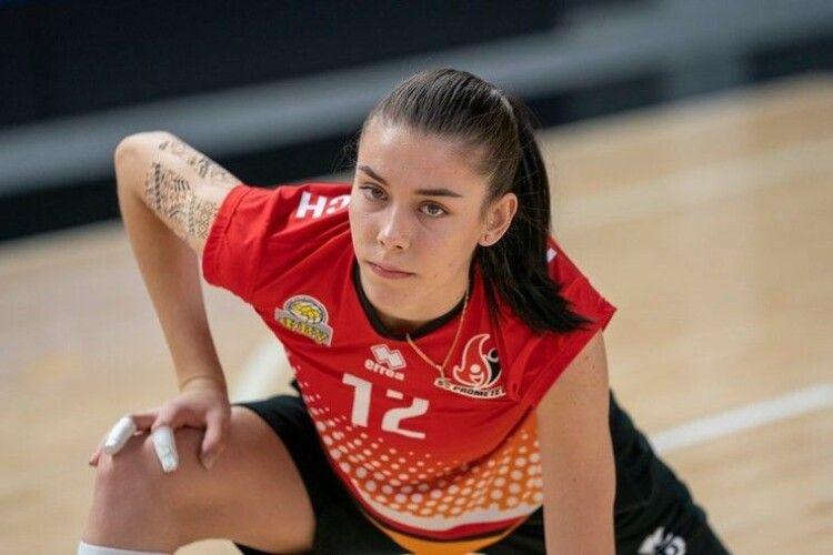 Волейболістка Франкевич обов'язково мусить грати у Франції