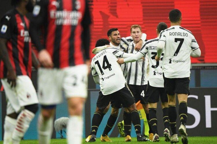 «Ювентус» перервав 27-матчеву безпрограшну серію «Мілана»