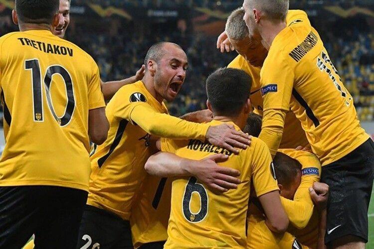 ФК«Олександрія» героїчно вигризає нічию в«Сент-Етьєна», поступаючись наприкінці зустрічі 0:2 (відео)