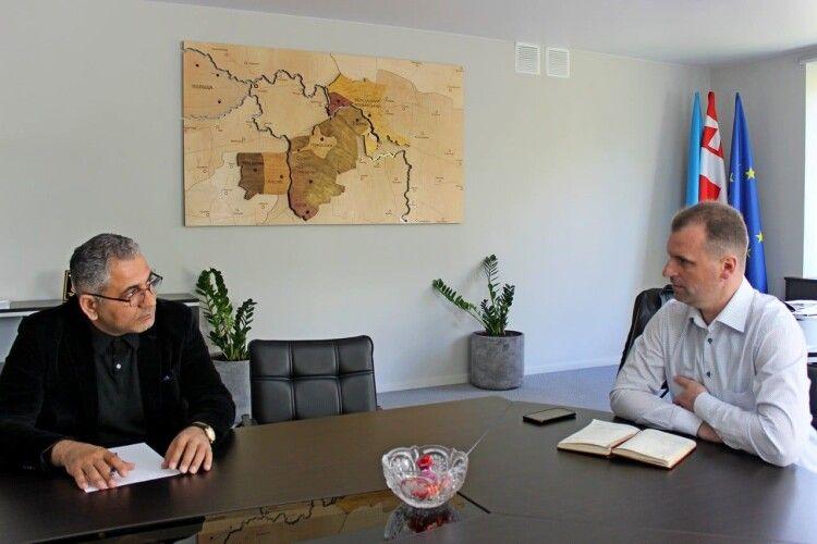 Азербайджанські інвестори зацікавилися волинським містом