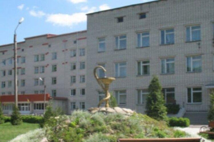 Ратнівська лікарня закриває інфекційне відділення