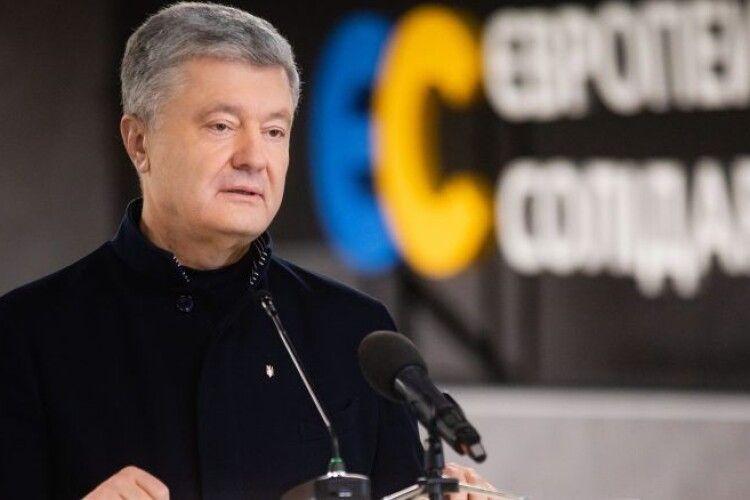 «Європейська Солідарність» перемогла у 5 регіонах і заходить в усі обласні ради України – Порошенко