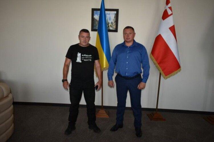 Призначили радника голови Волинської ОДА з питань ветеранів та учасників АТО-ООС