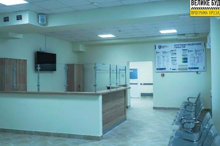 У Луцькій міській лікарні завершили реконструкцію відділення