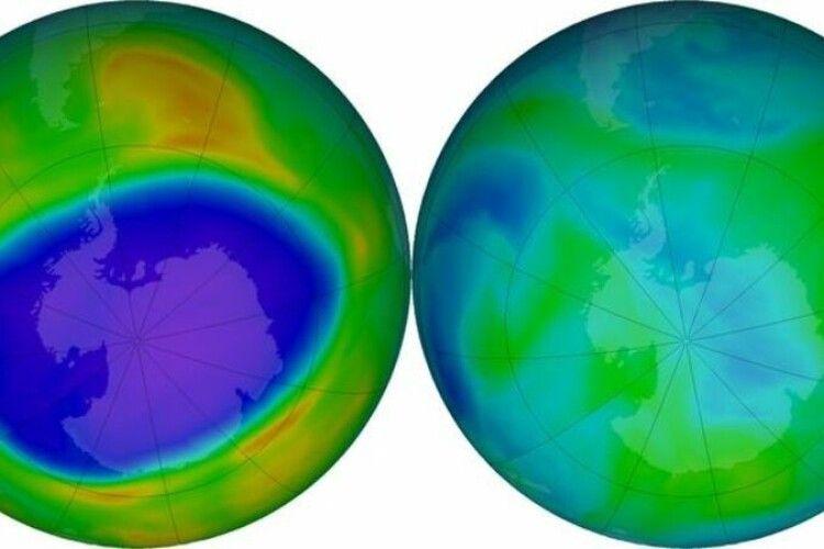 Над Антарктикою закрилася одна з найбільших озонових дір