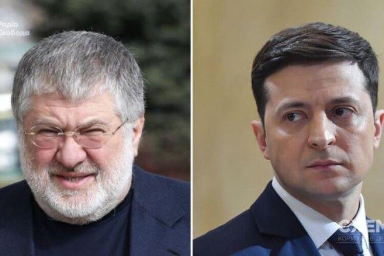 Володимир Зеленський зустрівся з олігархом Ігорем Коломойським в Офісі президента
