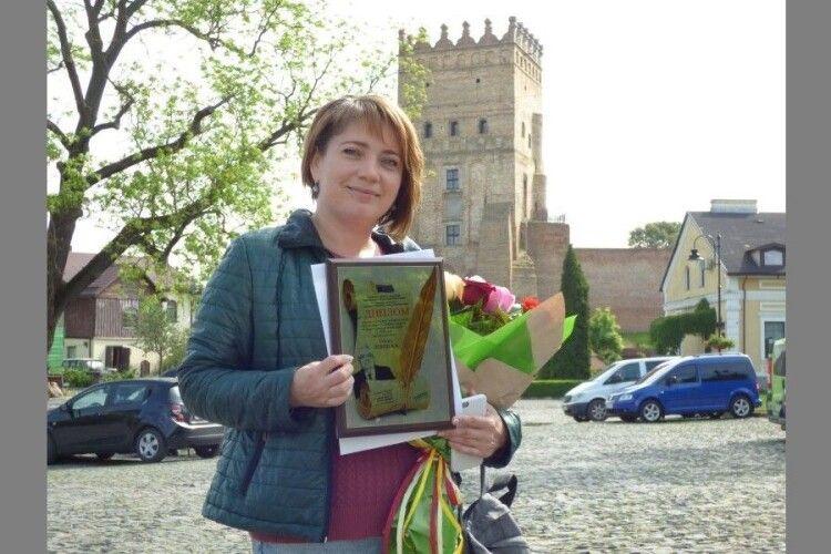 Волинська журналістка стала фіналісткою 9-го конкурсу «Самовидець»