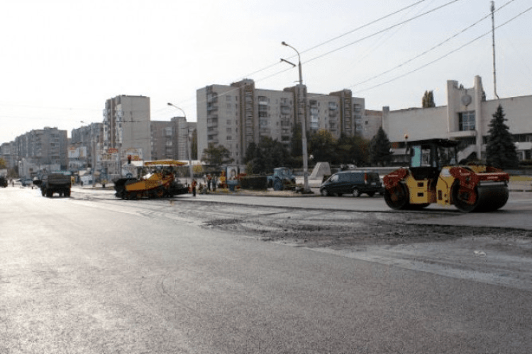 У Луцьку через ремонт перекриють частину проспекту Соборності