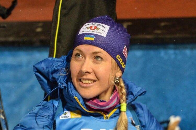 Юлія Джима посіла високе п'яте місце в спринтерській гонці
