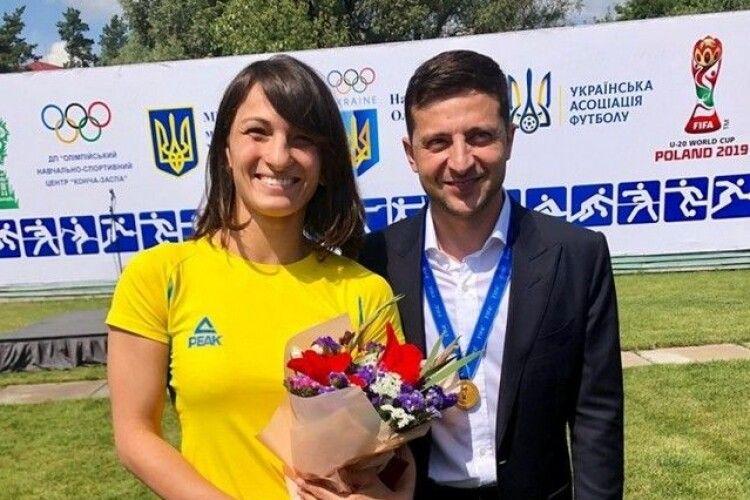 Володимир Зеленський нагородив ковельських спортсменів