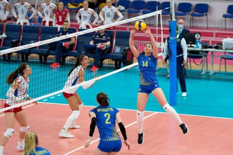 Волейбол: на тай-брейку українок у грі зі Словаччиною уже було не спинити (Фото)