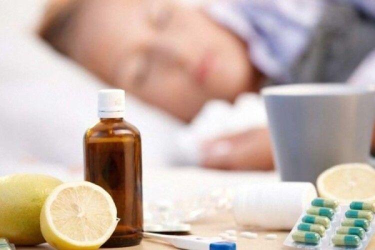 На Волині епідемії грипу нема, але про небезпеку забувати не варто