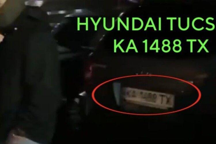 Автомобіль, який стежив за депутатом Київради від «ЄС», раніше «засвітився» на акції проплачених «тітушок»