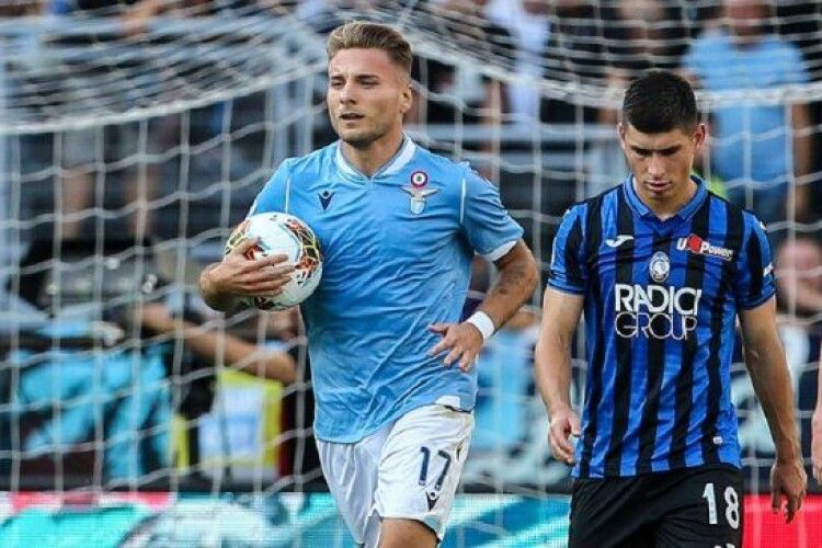 «Аталанта» Руслана Маліновського зіграла внічию з «Лаціо», ведучи після першого тайму 3:0
