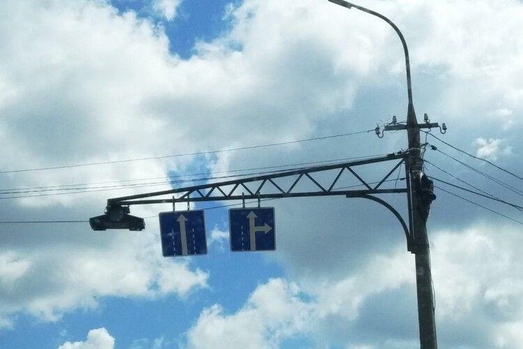 У Луцьку змінили схему руху на вулиці Яровиця (Фото)