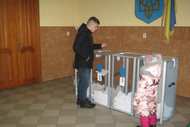 Як лищани вперше в складі ОТГ голосували