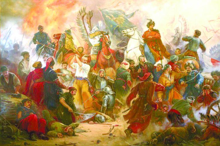 Полякам убаталії зХмельницьким допомогла ікона Холмської Богородиці?