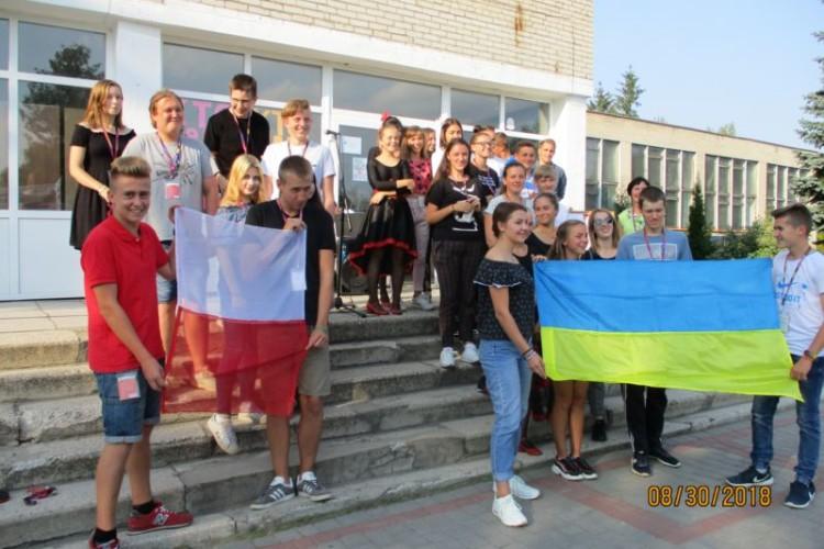 Школярі із маневицьких Колок та польського Зґежа спільно реалізували інтеграційний проект