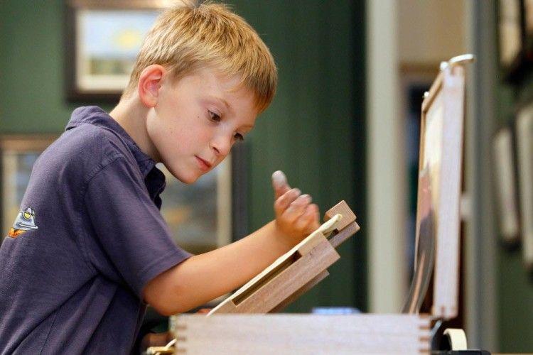 13 річний художник отримав прізвисько «маленький Моне» завдяки своєму таланту