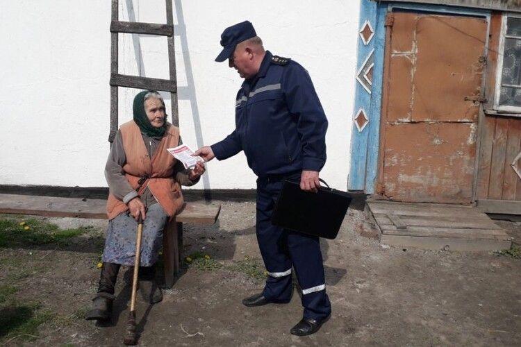 В Озютичах та Кисилині селян вчили остерігатися червоного півня (фото)