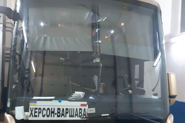 На кордоні з Польщею затримали «цигарковий» рейс (Фото, відео)