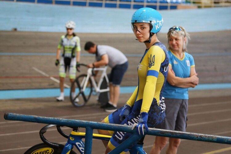 Волинська велосипедистка здобула чотири золоті медалі на Кубку України