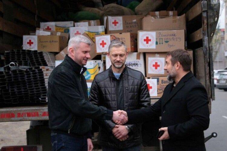 Волинь відправила на Луганщині 4 тонни гуманітарного вантажу