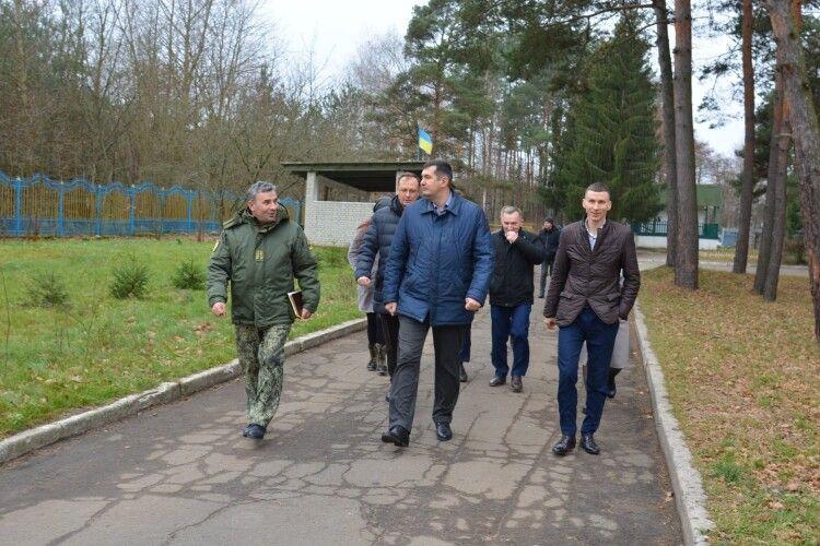 Волинський військовий ліцей може стати найкращим в Україні (Фото)