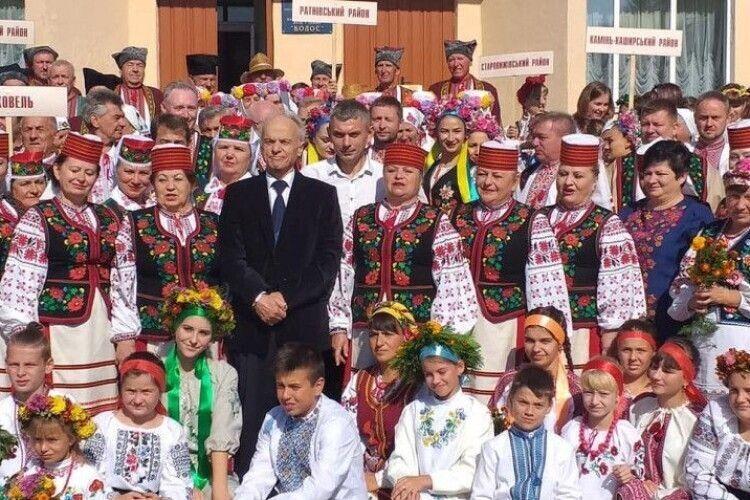 Заслужений народний ансамбль «Колос» став Підгайцівським