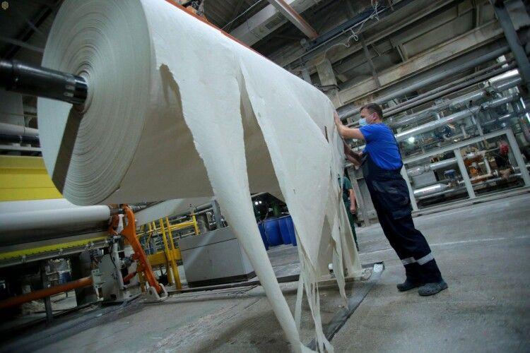 На Львівщині збудують новий екологічний цех із виробництва паперу
