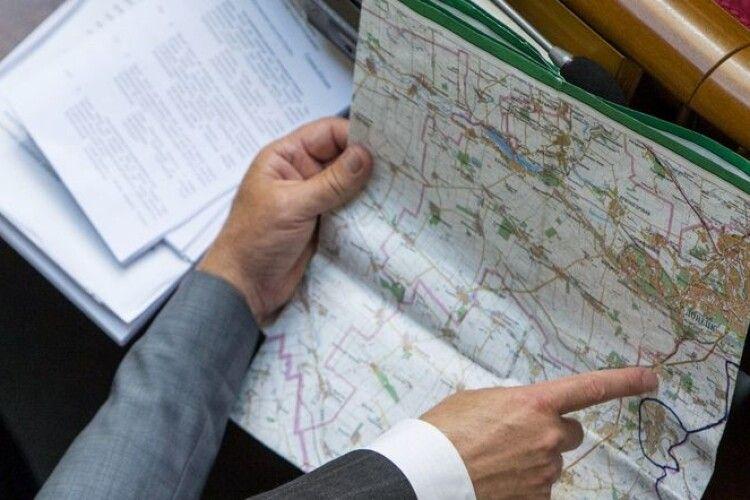 В Луцьку ОТГ увійдуть 10 сільрад з трьох районів