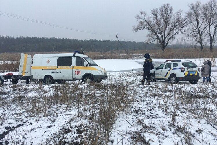 На Полтащині мати з донькою провалилися під кригу і потонули (Фото)