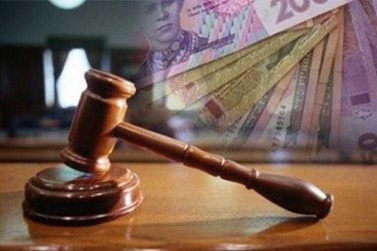 На Волині директора комунального підприємства підозрюють в розтраті 840 тис. грн