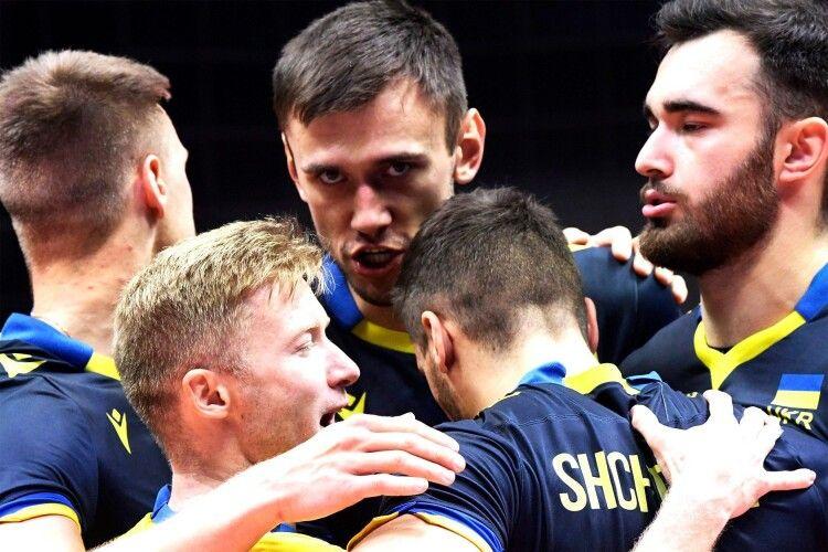Волейбол: українці хоч і програли, але дали справжній бій чемпіонам Європи (Фото, таблиця)