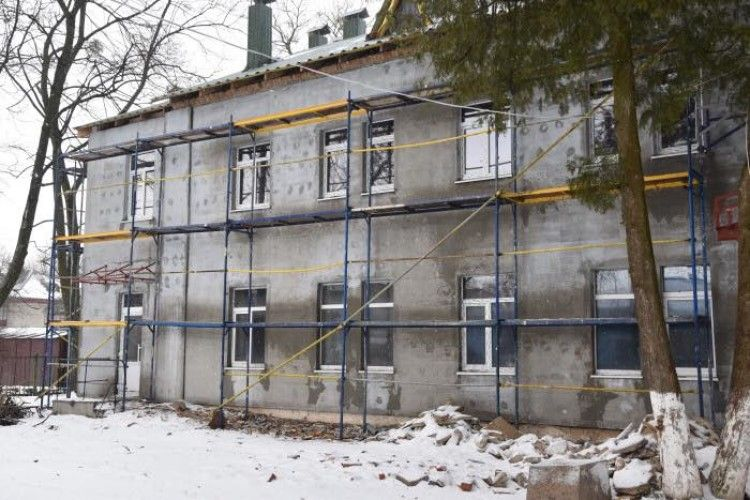 Амбулаторія в мікрорайоні Вересневе напівготова