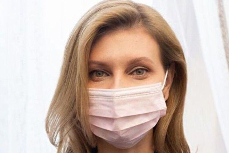 Дружина президента Зеленського розповіла, як поборола коронавірус