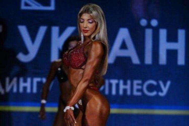 Волинянка стала фіналісткою Чемпіонату України з бодібілдингу