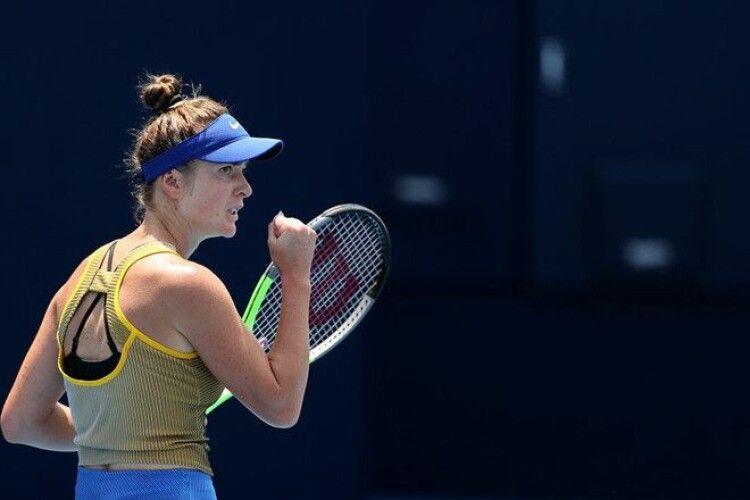 Українська тенісистка вперше зіграє в 1/2 фіналу Олімпіади (Статистика)