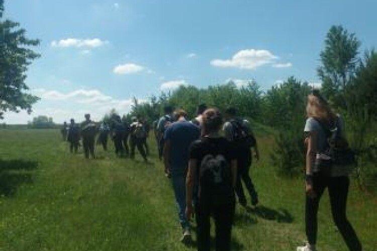 Ліцеїсти пройшлися «Стежками повстанської слави»
