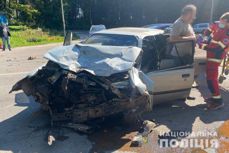 У Ківерцях автотроща, двоє водіїв госпіталізовані (Фото)